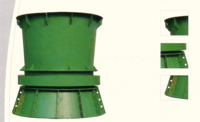 立式K40L系列矿用主、辅扇轴流通风机