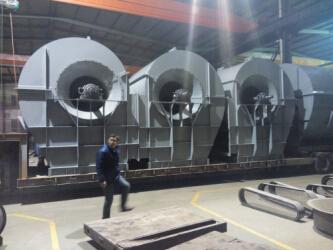 鲁中厂家专用配套F式大型通风机