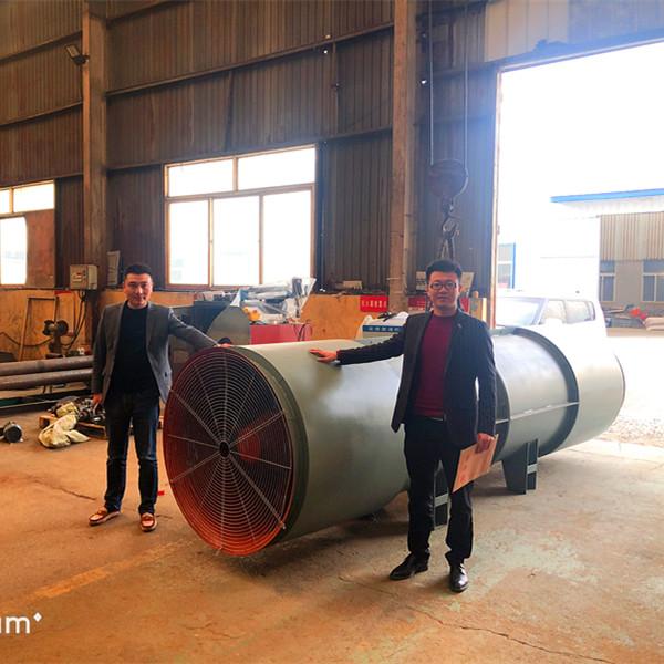 吉尔吉斯坦隧道风机发货